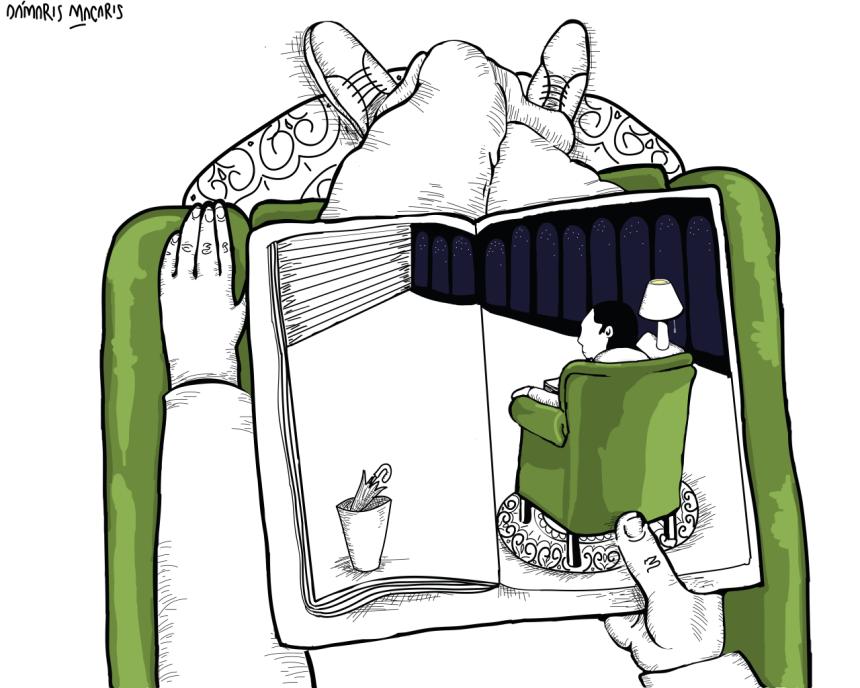 Ilustración de Dámaris Macaris.